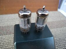 2 pieces Telefunken 12ax7/ecc83    smooth plate w/tested good. Germany