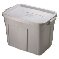 Rubbermaid Roughneck Storage Box 18 gal Steel Gray 2215CPSTE