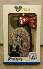NEW Disney World Parks Minnie Mouse Rhinestone Sequined Bling IPhone 6 Case