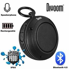 Divoom VOOMBOX-TRAVEL Rugged Bluetooth Speaker - Brand new - free post - Black