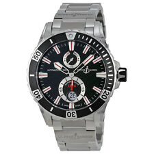 Ulysse Nardin Maxi Marine Diver Black Dial Stainless Steel Mens Watch
