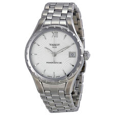 Tissot T-Lady Powermatic Automatic Silver Dial Stainless Steel Ladies Watch