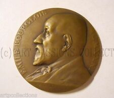 1931 MÉDAILLE BRONZE ART DECO E BOURGEOIS PROFESSEUR UNIVERSITE PARIS