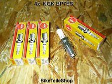 4 NGK Zündkerzen BP7ES f. YAMAHA XJ 650 750 spark plug  XJ650 4K0 XJ750 11M Seca
