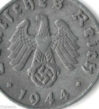 Rare Old Antique Vintage Hitler Germany WWII Nazi Army Swastika World War 2 Coin