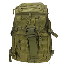 Outdoor Military Backpack Hiking Camping Trekking Rucksacks 35L bag Green