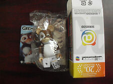 "Medicom Series 20 Bearbrick Gremlins Figure in Box 2 3/4"" Tall"