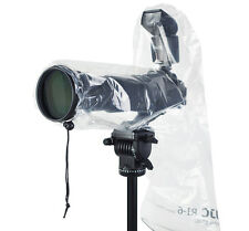 UK Store! CameraPlus® Camera Rain Cover for DSLR with a lens up-to 45X17cm