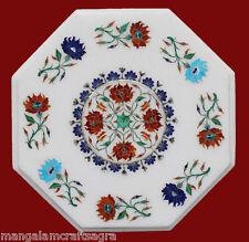 "12"" Marble Coffee Table Handmade Pietra dura Art Work Home Decor Gifts"