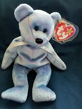 CLUBBY II TY Beanie Baby Retired Bear 1999 1st version TUSH TAG Typos on Swing