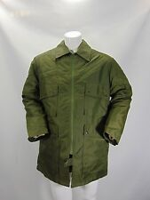 MILITARE MILITARY Uniforme Uniform Parka Cappotto Trench Coat Tg L Man Uomo G10