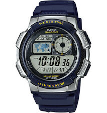 Casio Digital Men's Watch, 100M, 5 Alarms, Chronograph, Resin, AE1000W-2AV