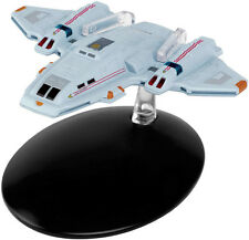 #78 Star Trek Voyager Aeroshuttle  Die Cast Metal Ship-UK/Eaglemoss w Mag