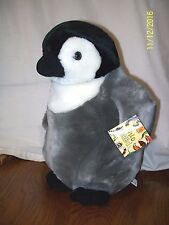 "Wildlife Artists Emperor Penguin Plush 14"" With Tag"