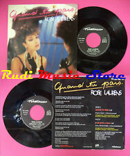 LP 45 7''ROSE LAURENS Quand tu pars Je me jette a l'eau 1985 france no cd mc dvd