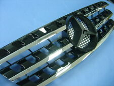 Black Front Grille Set For 1996-2005 Mercedes Benz W163 M-Class ML