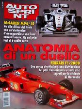 Autosprint 6 2000 McLaren Mp4/15. F1 2000 il team del 3° millennio. L. Pedersoli