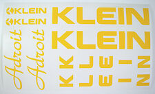 Klein Adroit Paint Mask Decals ~ Klein Frame, Fork, MC1 De-Boss Decals