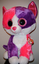 "Ty 17-18"" LARGE / JUMBO Beanie Boos ~ PELLIE the Cat ~ Claires Exclusive ~MWMT'S"