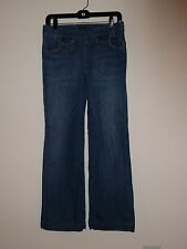CITIZENS OF HUMANITY SIDE ZIPPER WIDE LEG FLARE STRETCH JEANS SIZE 28