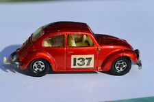 Matchbox Lesney Superfast No 15 Volkswagen 1500 Saloon Beetle Car - Near Mint