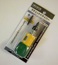 ENGINEER / RATCHET STUBBY DRIVER / DR-03 / MADE IN JAPAN