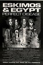 9/10/93PGN51 ESKIMOS & EGYPT : PERFECT DISEASE ALBUM/TOUR DATES ADVERT 7X5""