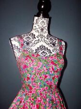 ASOS ROBE DRESS LIBERTY PREPPY POP CORSET T UK 8 OU 32/34