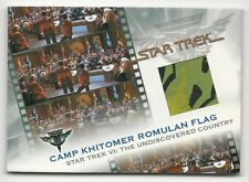 Camp Khitomer Romulan Flag STAR TREK Complete Movies Costume Card #KB3 /575