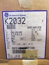 NEW GE MOTOR 1 HP M# 5KE49NN8210A 208/230/460 VOLT 7EFC 3PH NIB