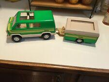 Tonka  Pop Up Camper &  Van 1970's very good condition
