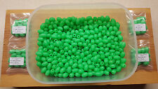 12 x 16mm-12mm Extra Large Oval Green Lumi Fishing Beads.Biggest listed on Ebay.