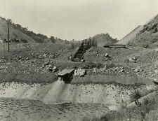 Photo California Calaveras Dam Usa Spring Valley Water United States1916