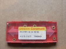 Turning/Profiling Inserts Tungsten Carbide Sandvik RCMM 06 02 MO-52 CNC Lathe