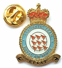 RAF Royal Air Force Red Arrows Crest Large Lapel Pin Badge *Official Product*