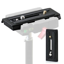 Compatible 501PL Quick Release Plate Fit for Manfrotto 501HDV 503HDV 701HDV 577