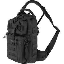 Black Sitka Outdoor Gearslinger Backpack, Mens CCW Bookbag Camp Hunt Sling Bag
