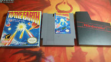 TO THE EARTH SCATOLA PICCOLA SMALLBOX NINTENDO NES INVIO 24/48H