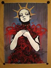 "COPYRIGHT sérigraphie ""American princess III"" sign-num/50 - Hush/obey/dolk/faile"
