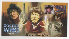 Dr Who Meglos Limited Edition cover signed Tom Baker. Excellent condition.