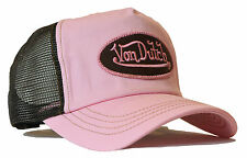 De van Dutch Mesh trucker base Cap [classic rose/Brown] Casquette Basecap Capuchon Chapeau