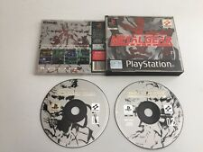 PS1 METAL GEAR SOLID  - GOOD CONDITION - Free Pp - 11