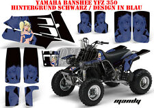 AMR RACING DEKOR GRAPHIC KIT ATV YAMAHA BANSHEE YFZ 350 MANDY B