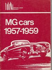 MG MGA 1500 1600 & MAGNETTE MK3 FARINA ( 1957 - 1959 ) PERIOD ROAD TESTS BOOK
