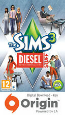THE SIMS 3 DIESEL STUFF PACK PC AND MAC ORIGIN KEY