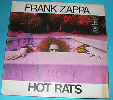 Frank Zappa - Hot Rats Gatefold LP (UK REPRISE Matrix RSLP 6356) A1/B1 - 1969.