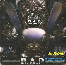 B.A.P First Sensibility 2014 [CD+DVD+52P+card+mini poster] New Sealed BAP