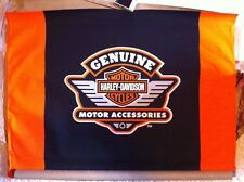 "Harley-Davidson NOS Genuine Motor Accessories Canvas Banner  40""W x 28""H"