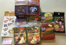 300 CT ULTRA PRO DECK PROTECTOR SLEEVES PLUS DECK BOX IN LOT FOR MTG LOT 9