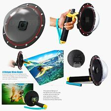 Underwater Diving Dome Port Camera Lens Cover for GoPro Hero 5 HD Action Camera